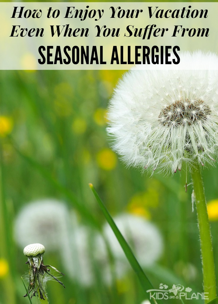 How To Enjoy Your Vacation Even When You Are A Seasonal Allergy Sufferer
