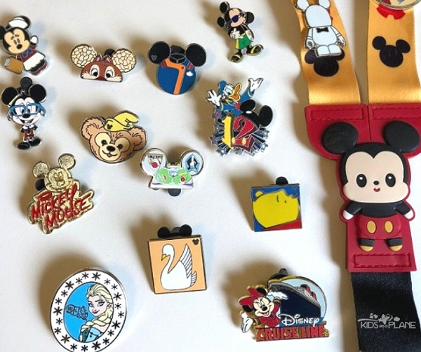Tips for Disney Pin Trading with Kids - Kids On A Plane - A Family