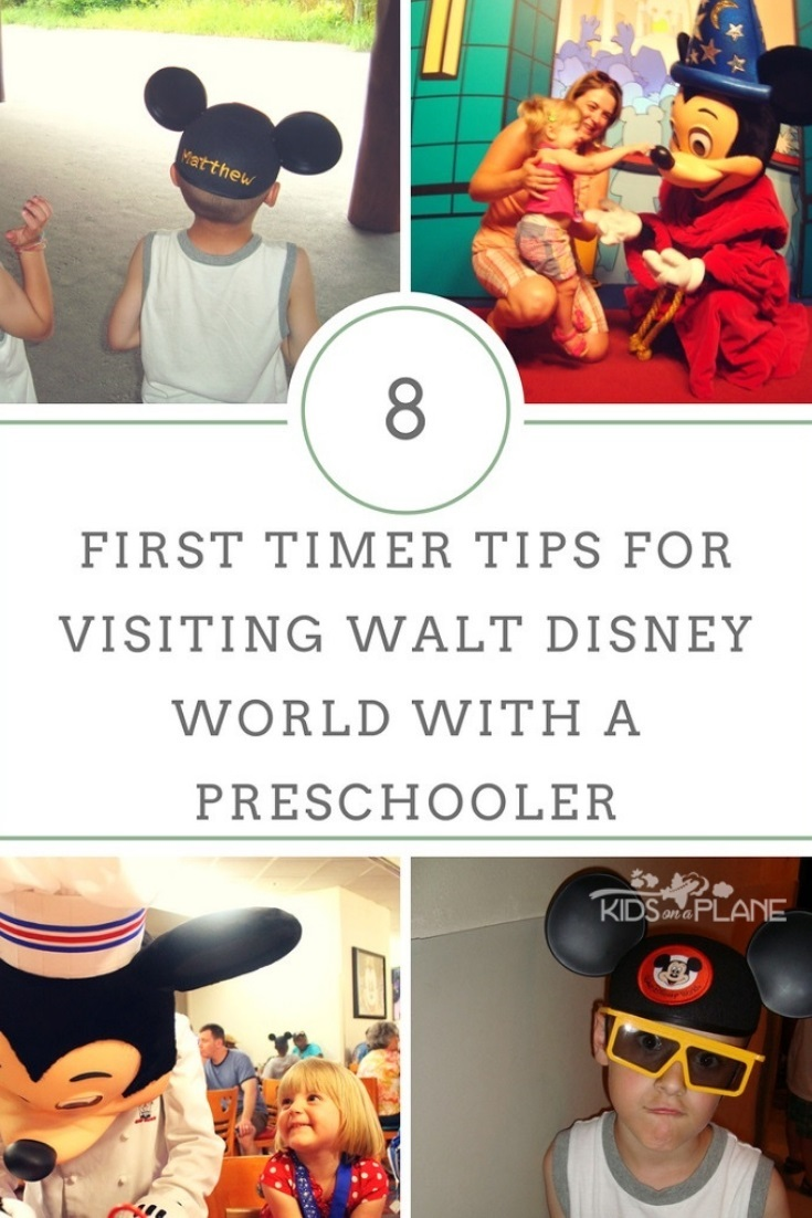 Taking a Preschooler to Walt Disney World - Tips for First Time Visitors