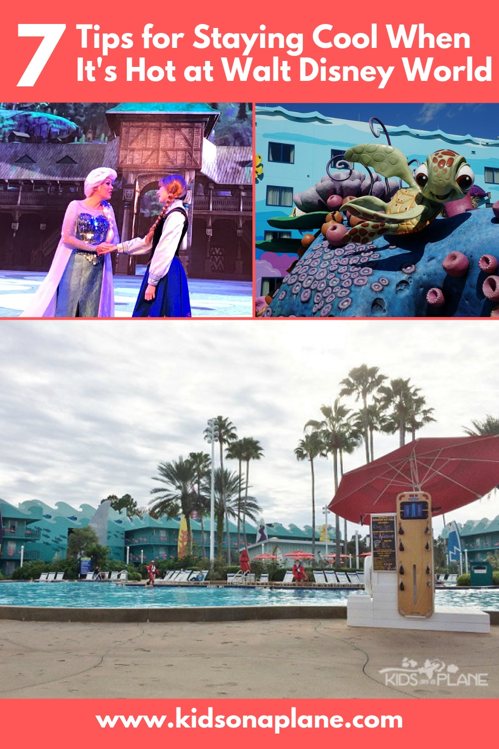 Top Tips to Stay Cool at Walt Disney World in Spring and Summer