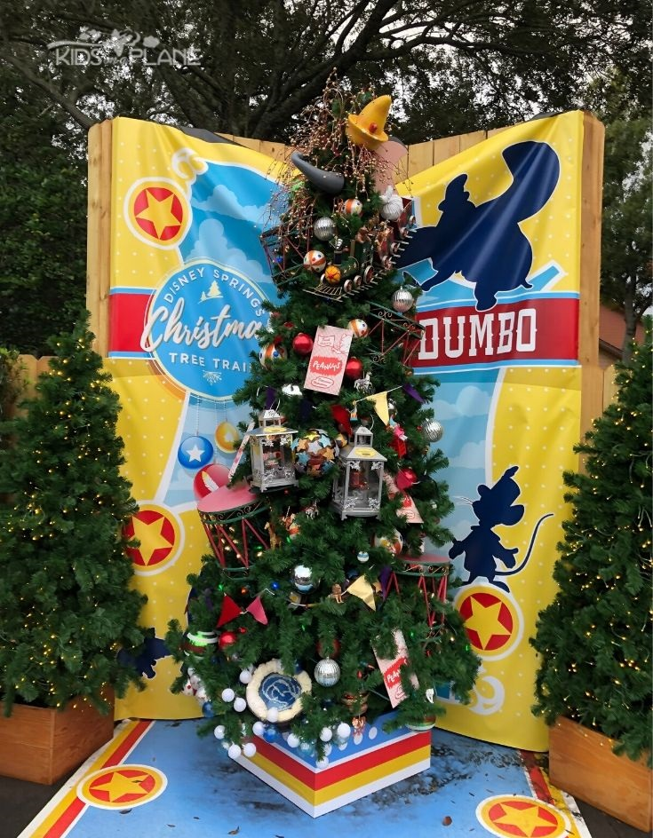 Christmas Tree Trail Disney Springs
