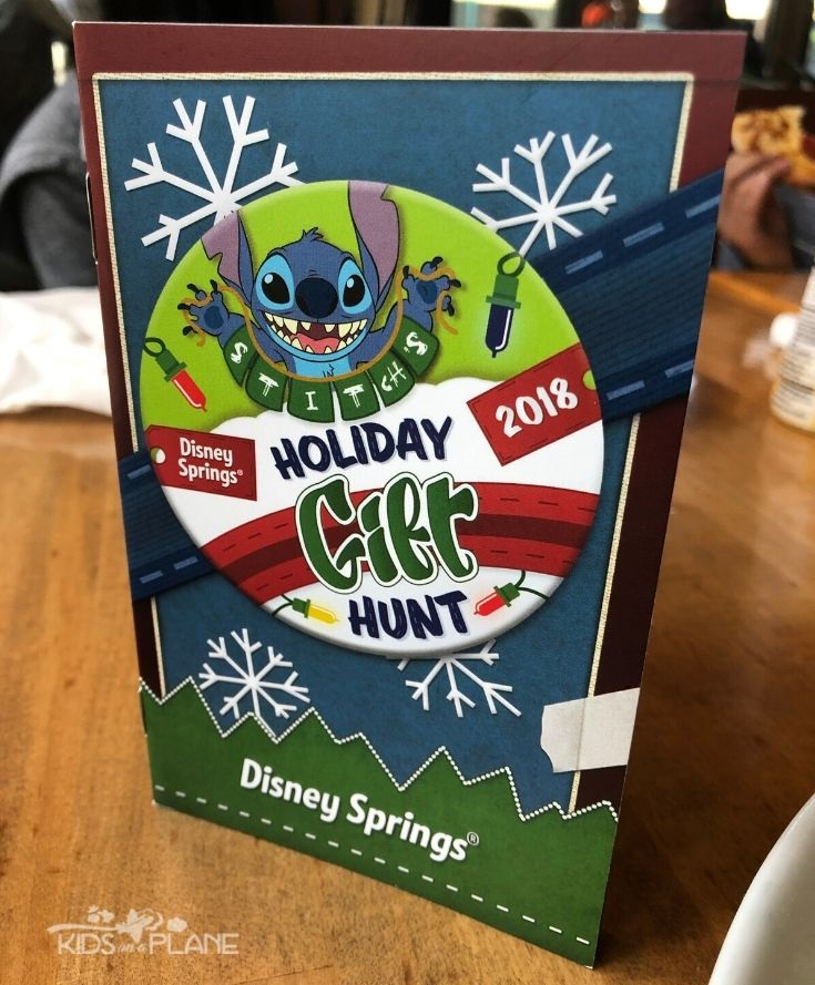 Disney Springs Stitch Holiday Gift Hunt