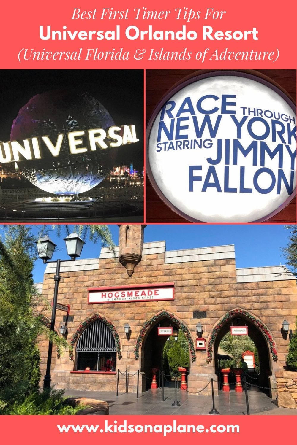 How to Plan a Universal Orlando Resort Trip - Best First Time Visitor Tips for Universal Florida and Islands of Adventure