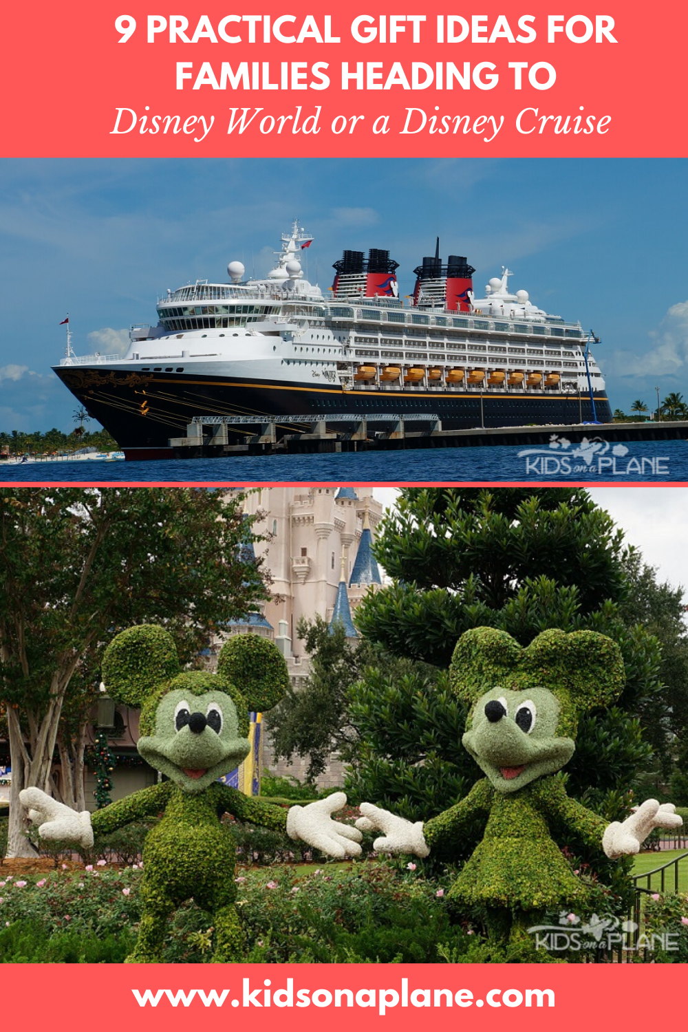 Practical Gift Ideas for Families Going to Disney World or Disney Cruise