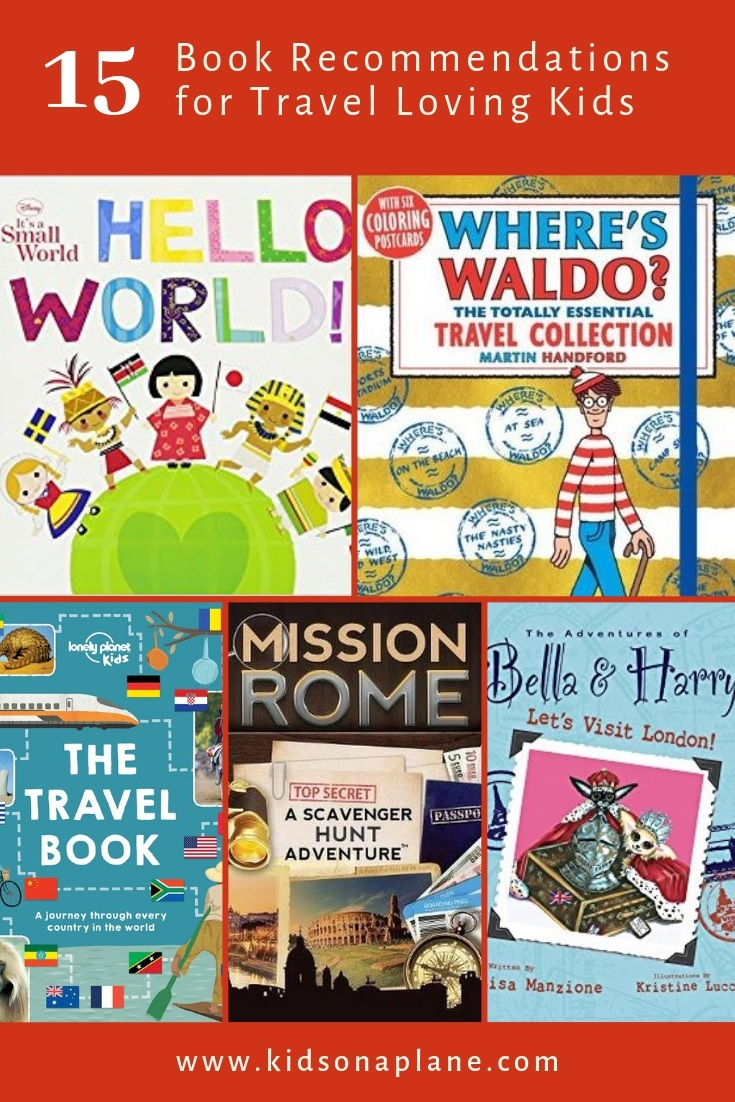 Best books for kids who love traveling and learning about the world - 15 recommendations