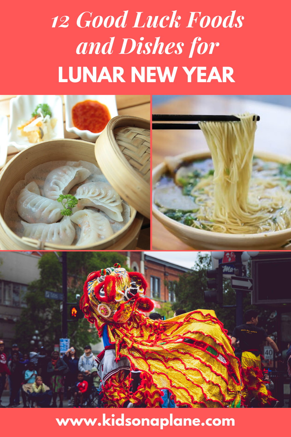 Good Luck Foods for Lunar New Year Chinese New Year