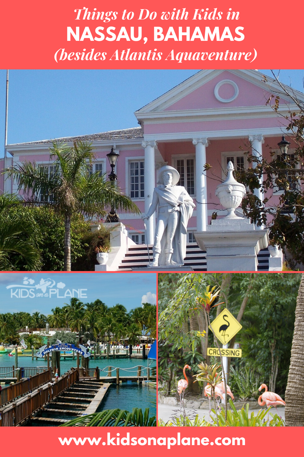 Things to do with kids in Nassau Bahamas besides Atlantis Aquaventure - Cruise Port Day Itinerary