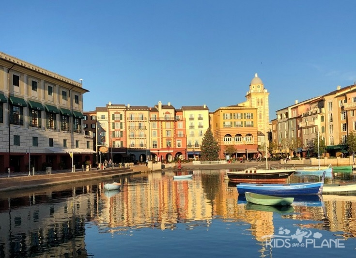 How to Choose a Universal Orlando Resort Hotel for a Family Vacation - Loews Portofino Bay Resort