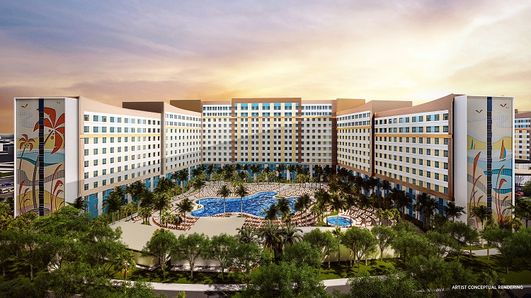 Universal Orlando Resort Value Hotel - Dockside Inn and Suites - Artist Conceptual Rendering