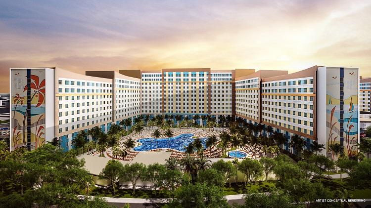 Universal Orlando Resort Value Hotel - Dockside Inn and Suites - Artist Conceptual Rendering