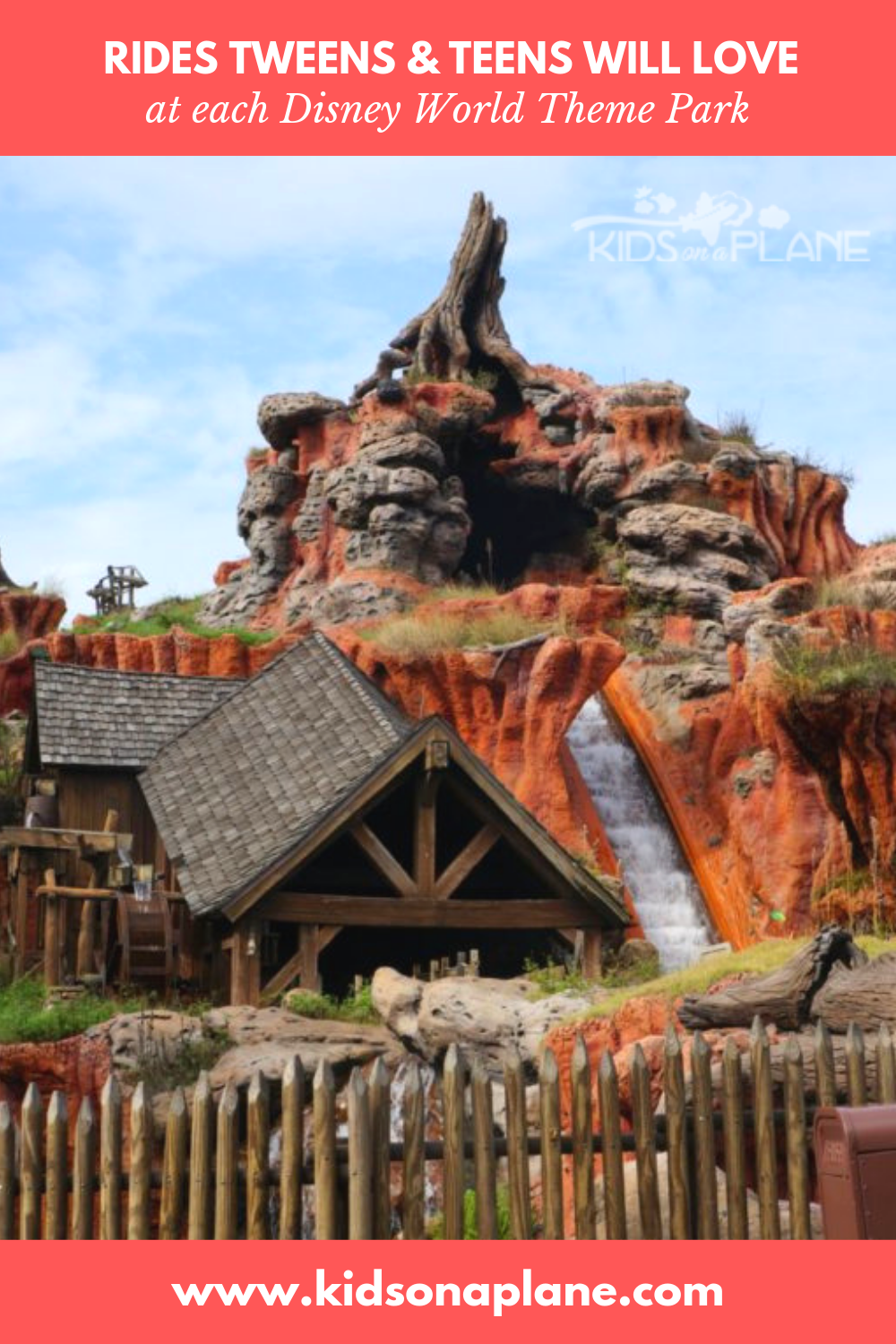 12 Rides Tweens and Teens Will Love at Disney World Orlando Florida