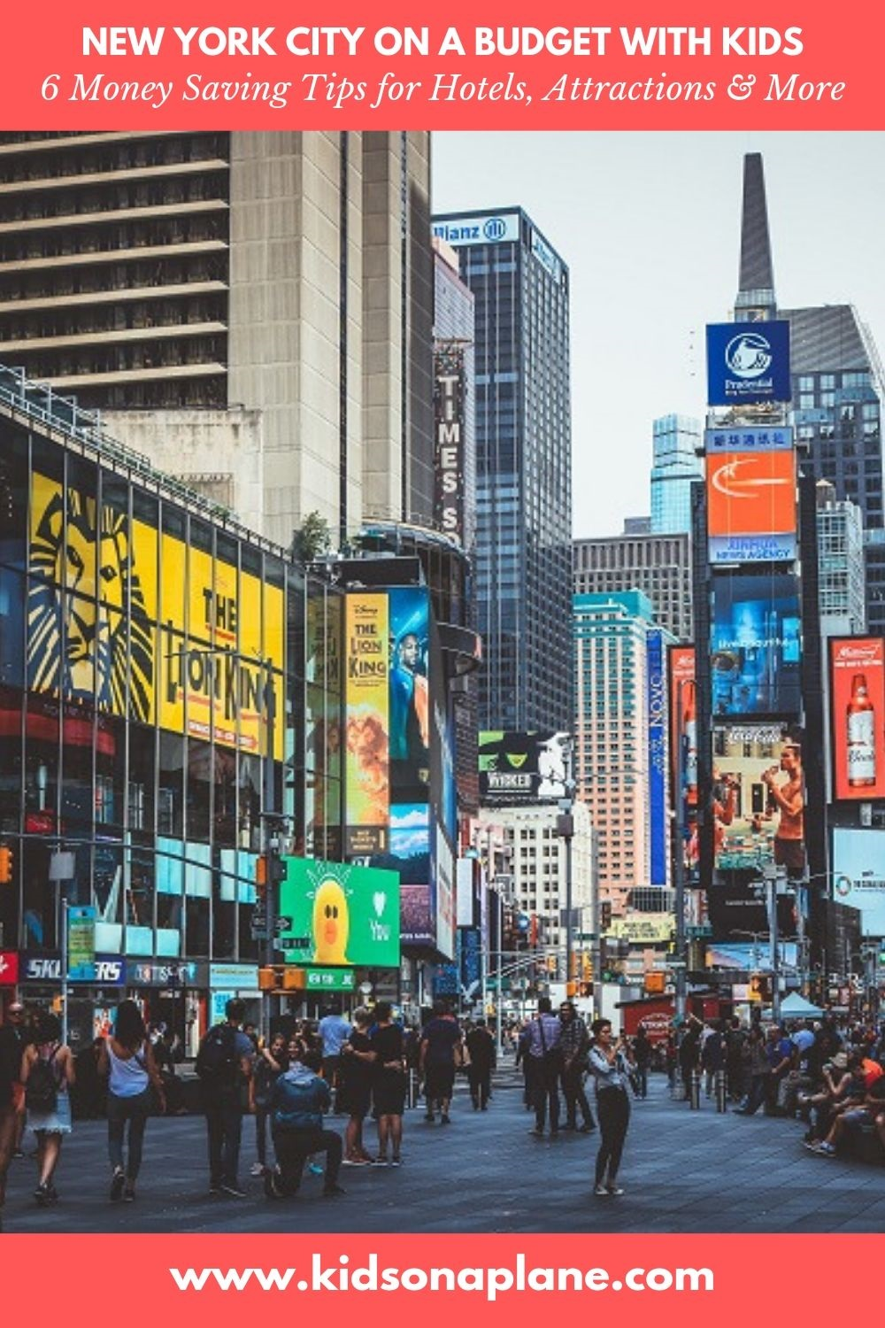 New York City with Kids Budget Travel Tips - 6 Simple Ways to Save Money