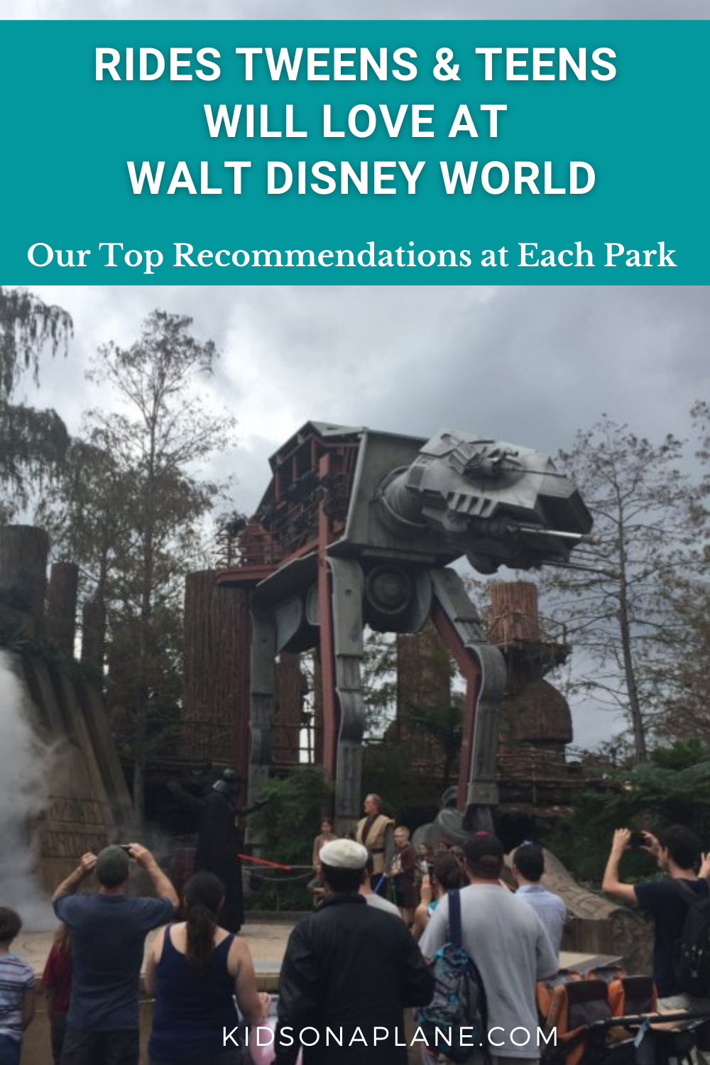 Best Rides at Disney World Parks for Tweens and Teens - Read about our top 12 picks