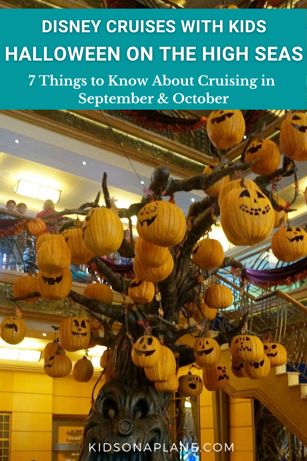 Halloween on the High Seas - Tips for Disney Cruises in September and October