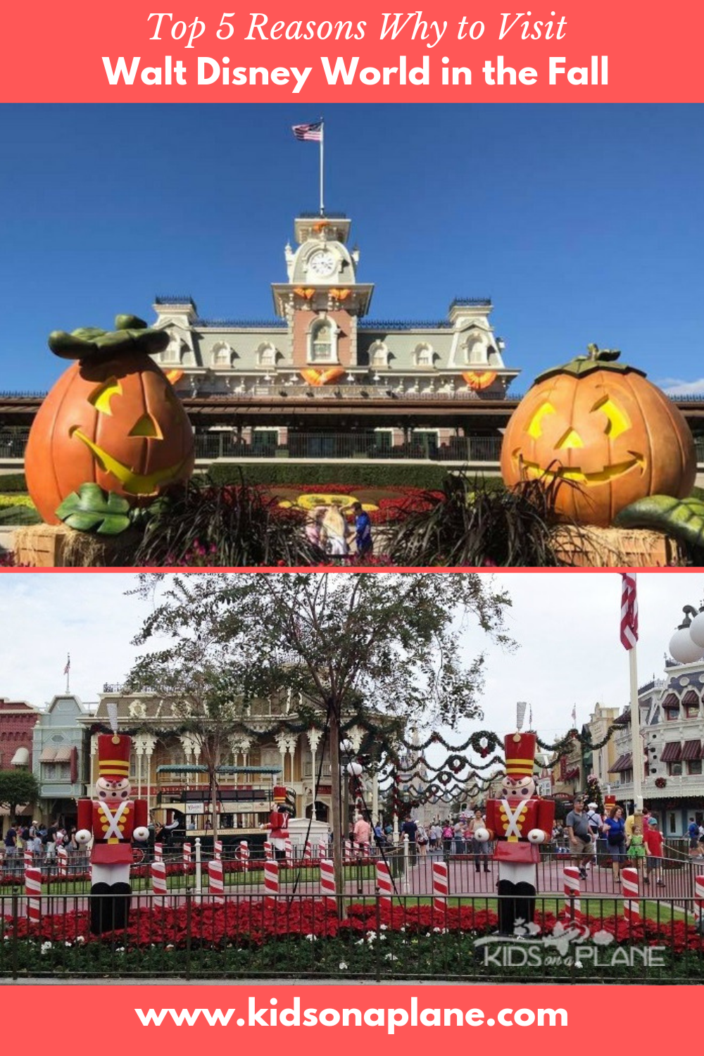 Reasons to Visit Walt Disney World Florida in the Fall - September October and November trips