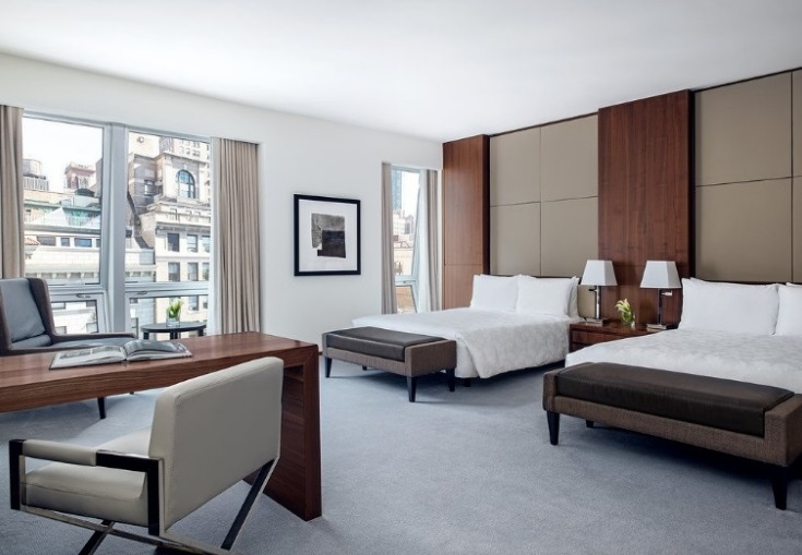 15 Hotels in New York City with Family Suites - All Budgets - Langham Fifth Avenue New York - Luxury Hotel