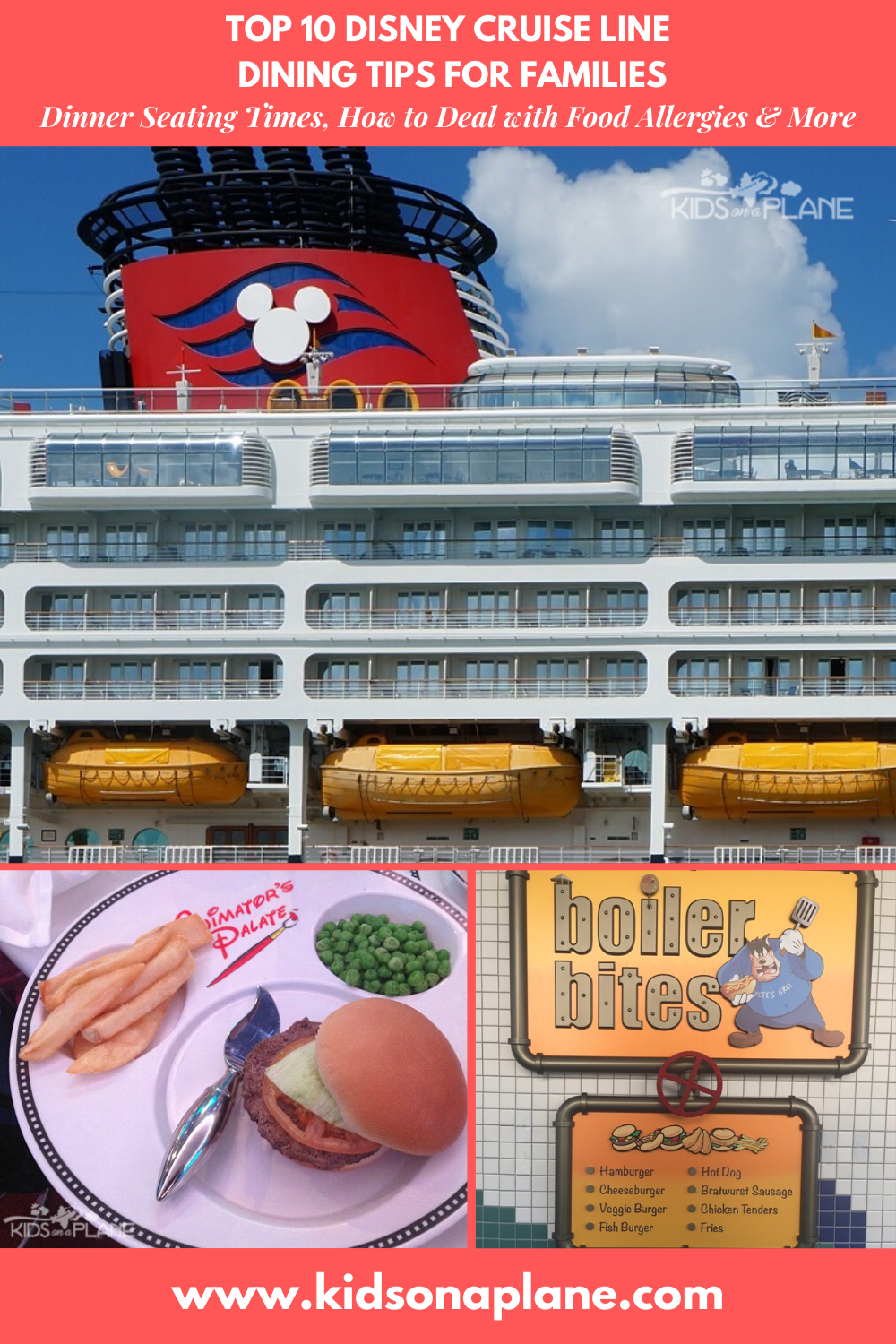 Disney Cruise Line Dining Tips - How to Handle Food Allergies and Choose a Dinner Seating Time and More
