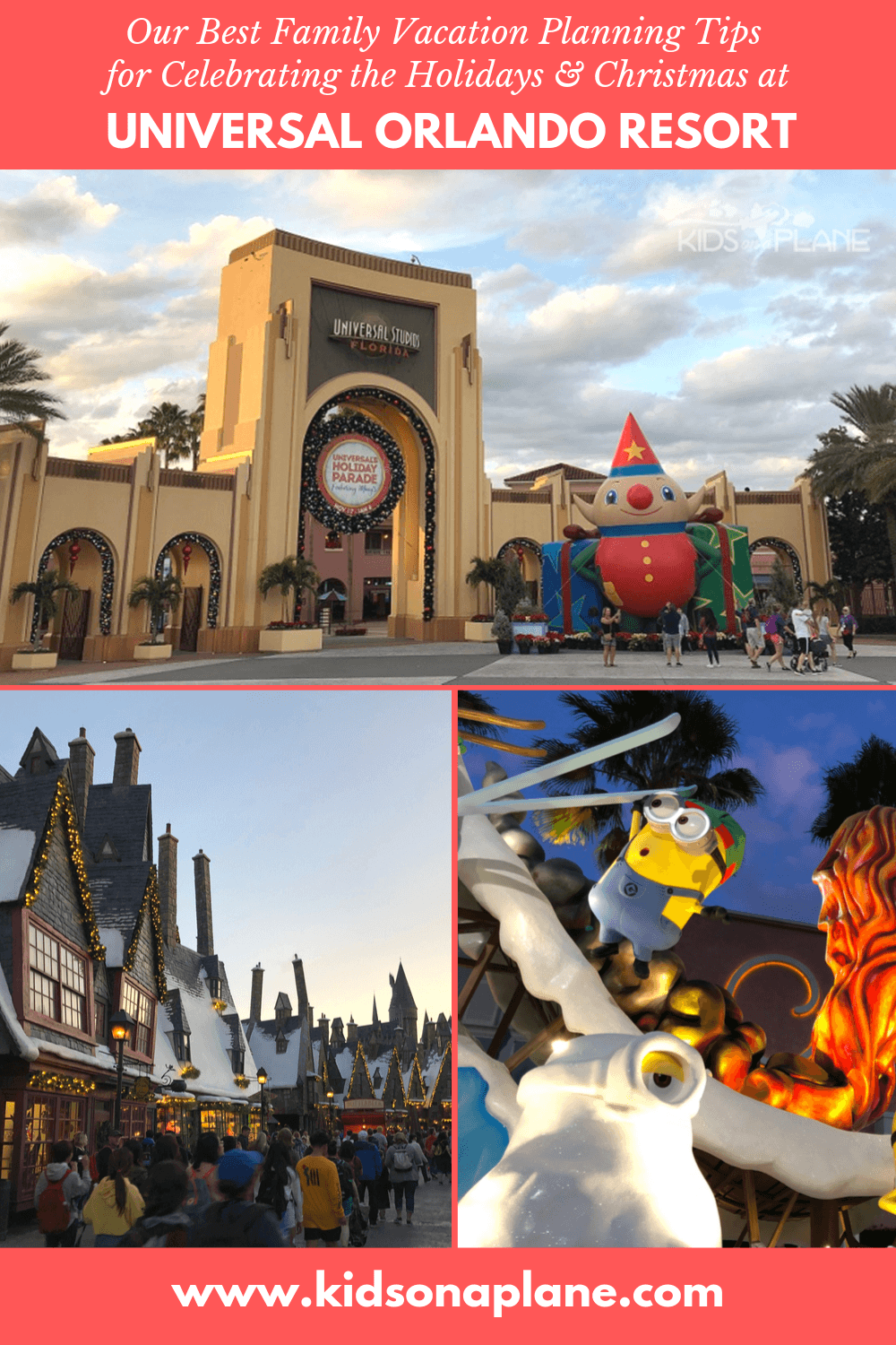 Money Time and Sanity Saving Tips for Celebrating Christmas and the Holidays at Universal Orlando