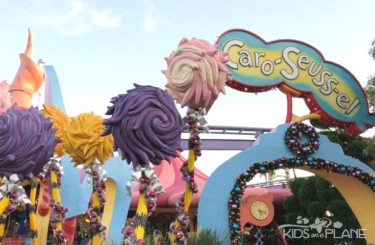 Seuss Landing Grinchmas - How to Celebrate Christmas at Universal Orlando with Kids