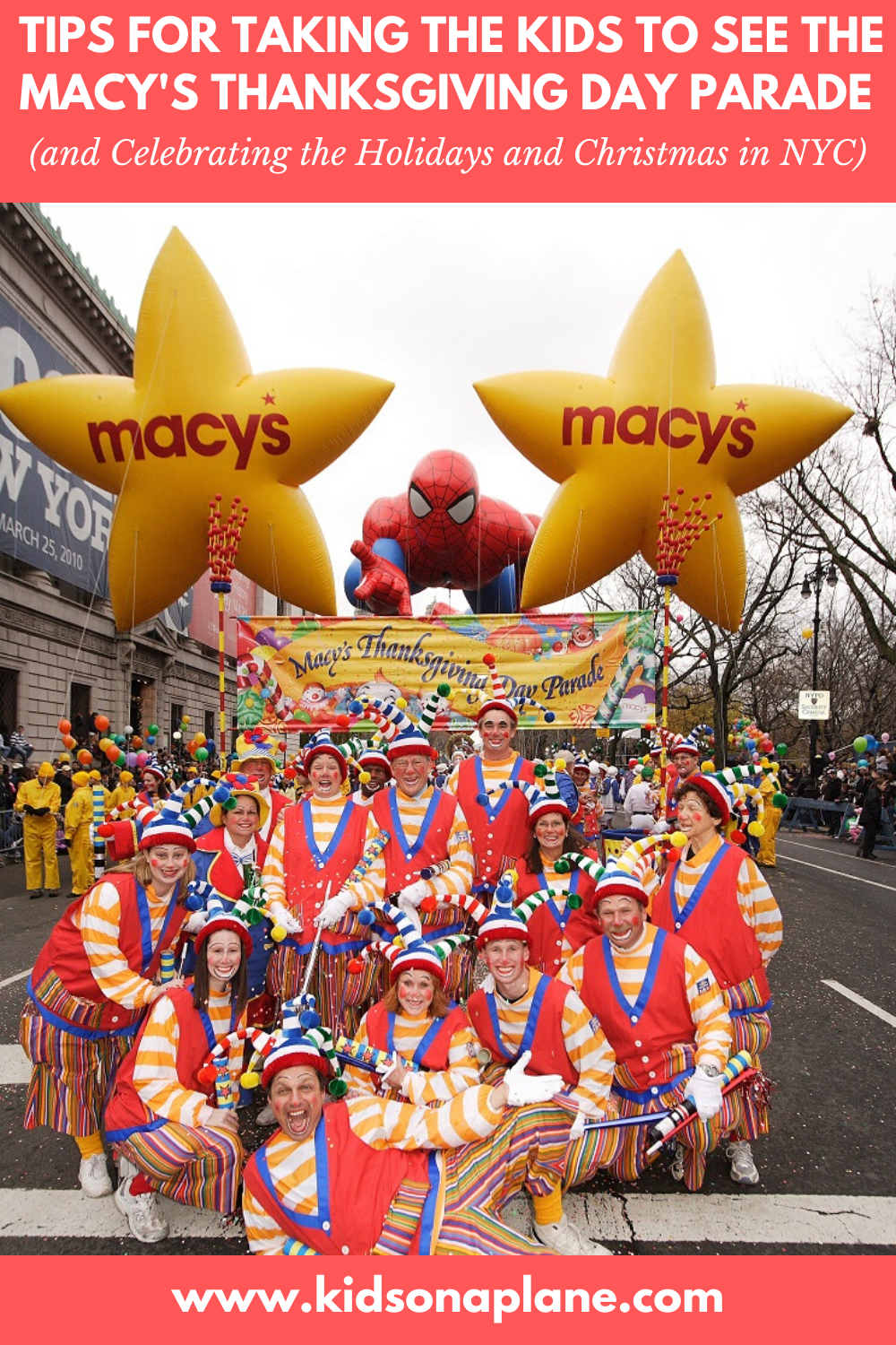 Tips for Macys Thanksgiving Parade and Celebrating Christmas in New York City with Kids