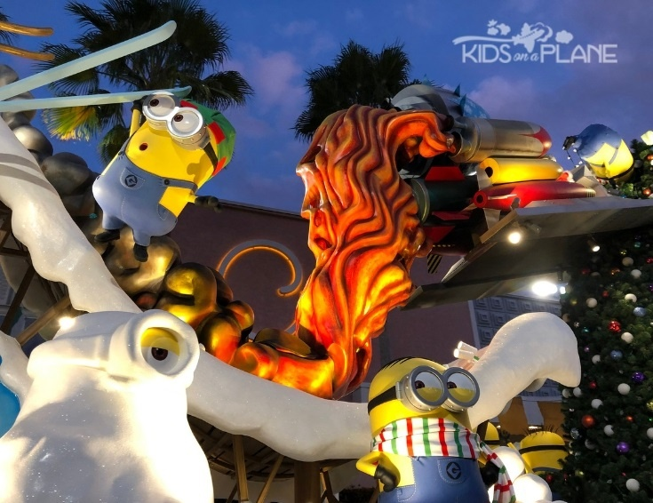 Universals Holiday Parade Macys - Best Things to Do with Kids at Universal Orlando Florida for Christmas