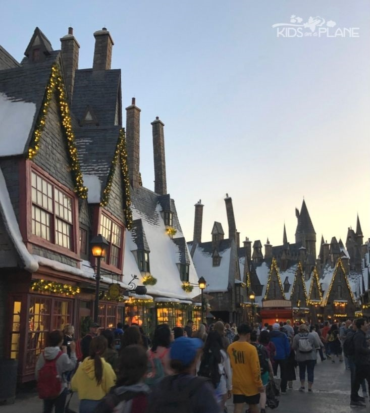 Wizarding World of Harry Potter Universal Orlando - Holiday and Christmas Travel Tips for Families