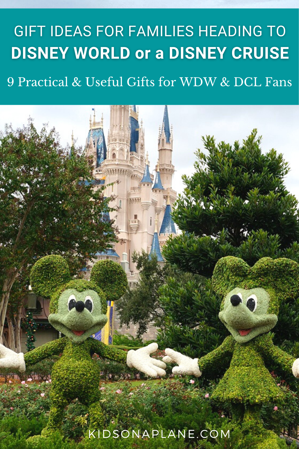 Gift Ideas for Disney World and Disney Cruise Fans - 9 Practical and useful gifts for WDW and DCL Guests