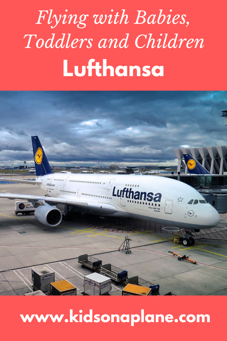 Lufthansa - Flying with Babies, Toddlers and Children and During Pregnancy