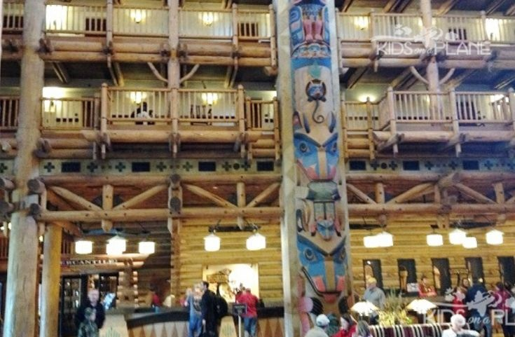 Places to Relax at Disney World - Resort Lobbies