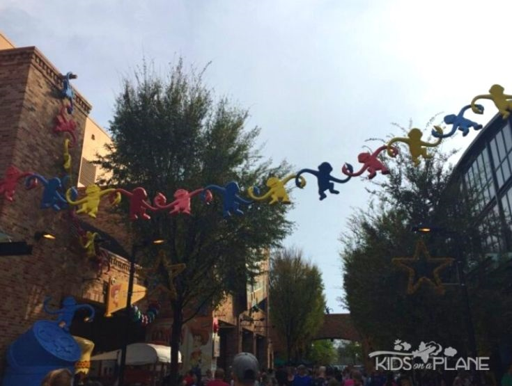 Relaxing spots in Disney World Hollywood Studios Theme Park