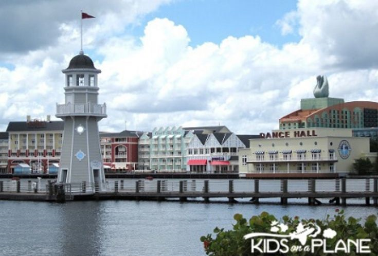 Relaxing spots near Hollywood Studios Disney World - Boardwalk area