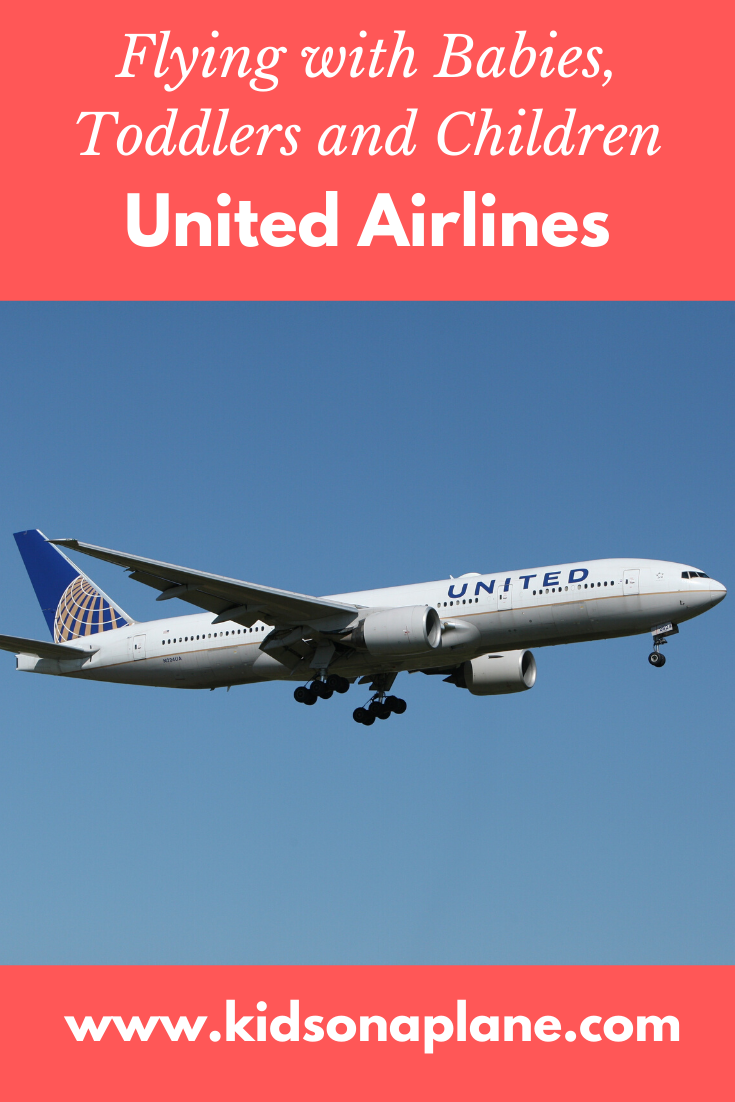 United Airlines Pregnancy Flying With Kids Infants And Children Policies
