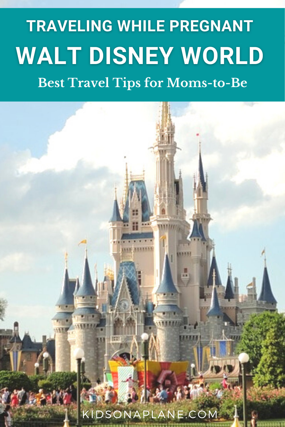 Disney World Travel Tips for Pregnant Moms to Be - How to Stay Cool Calm and Relaxed