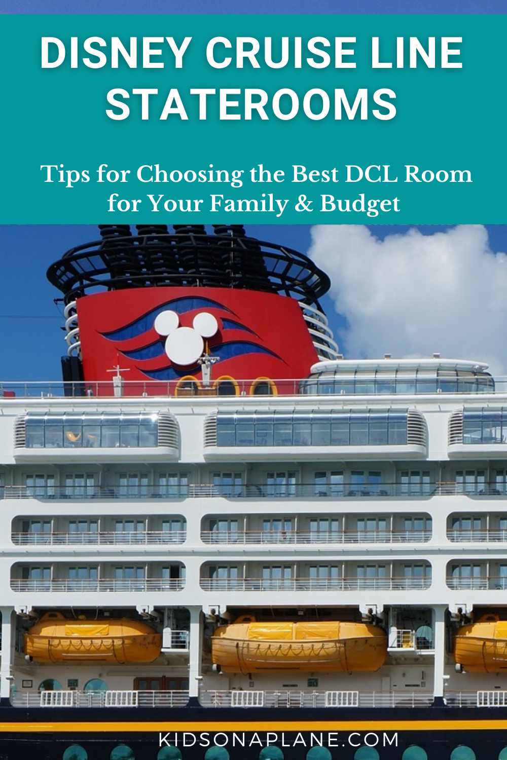 Tips for Choosing the Best Disney Cruise Line Stateroom - How to pick a DCL room for your family and budget