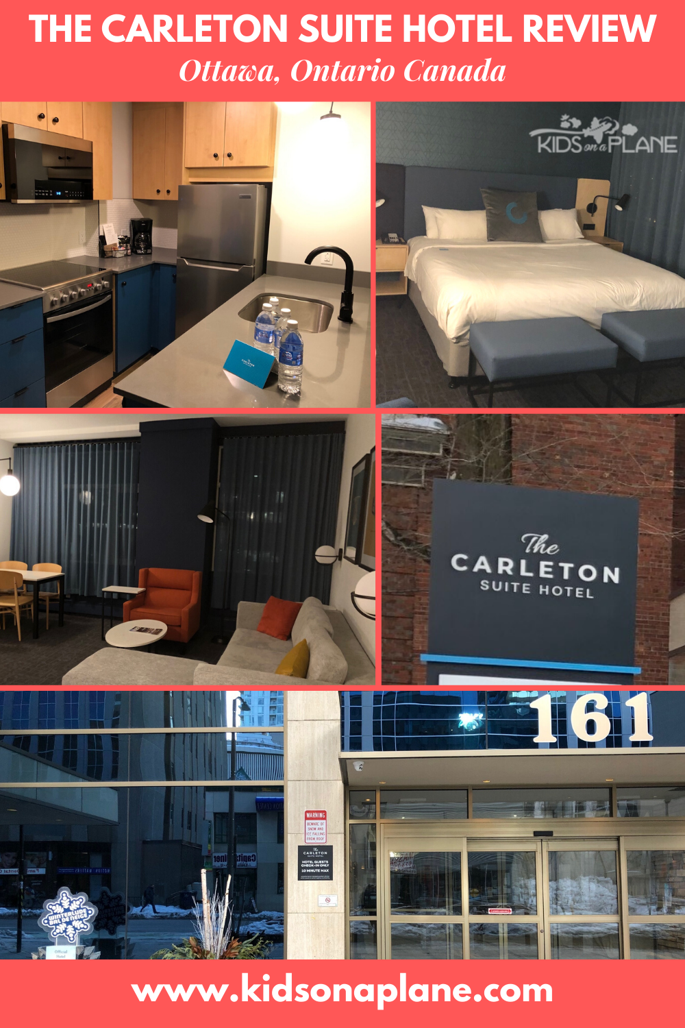 The Carleton Suite Hotel in Ottawa Review - One Bedroom Suite with Kitchen and Free Breakfast
