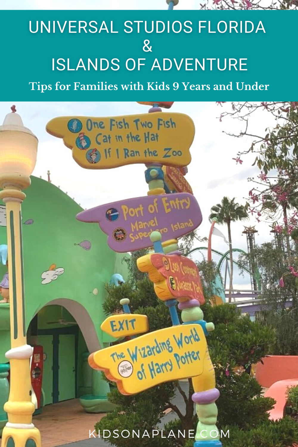 Universal Studios Florida and Islands of Adventure Travel Tips - Best things to do with kids 9 and under