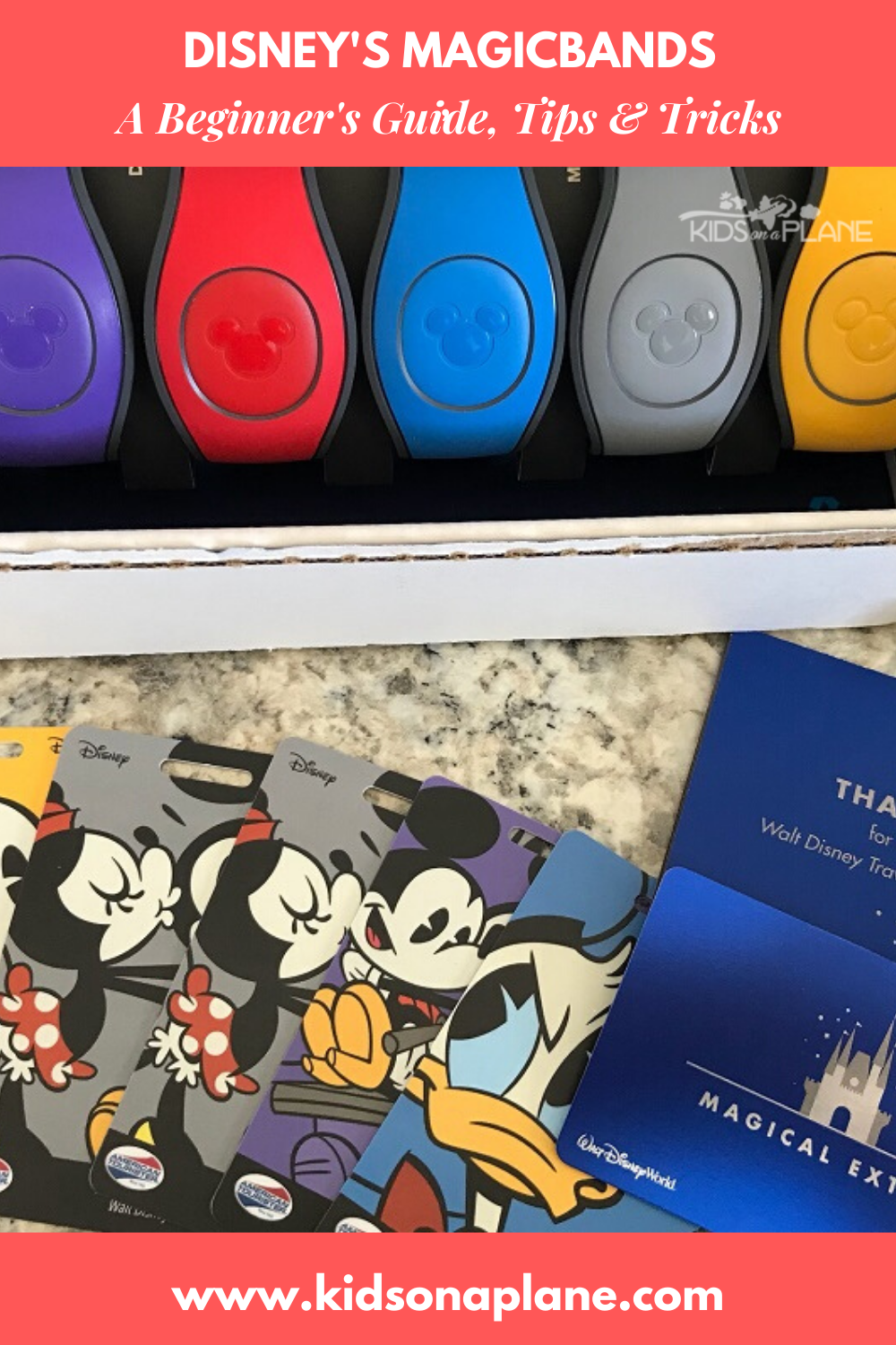 Disneys MagicBands - What Is It, How to Get Them, How to Use Them and More - A Complete Guide