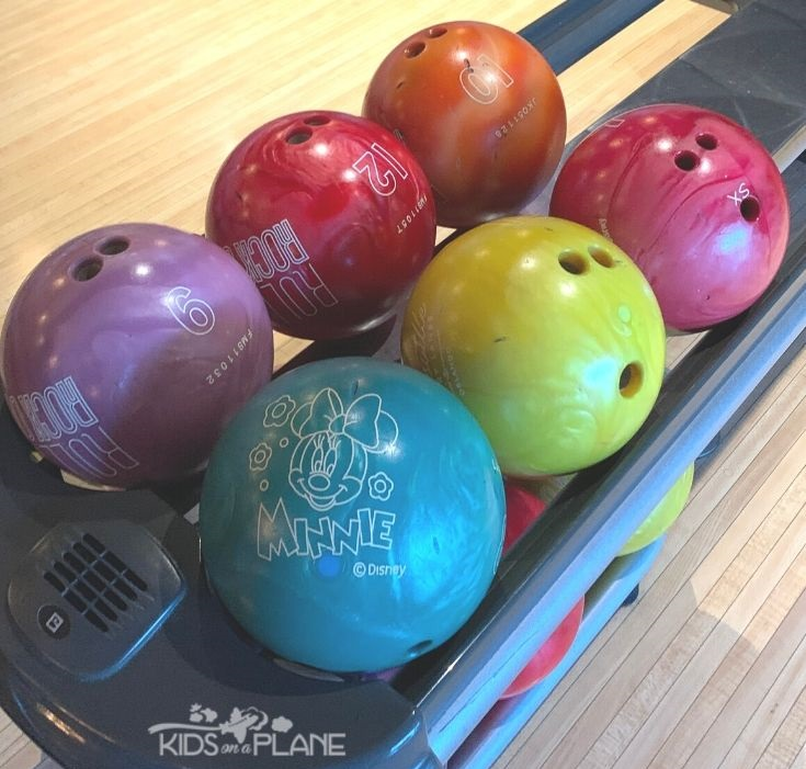 Cheap or Free Activities to Do with Kids at Disney World - Bowling at Splitsville Disney Springs