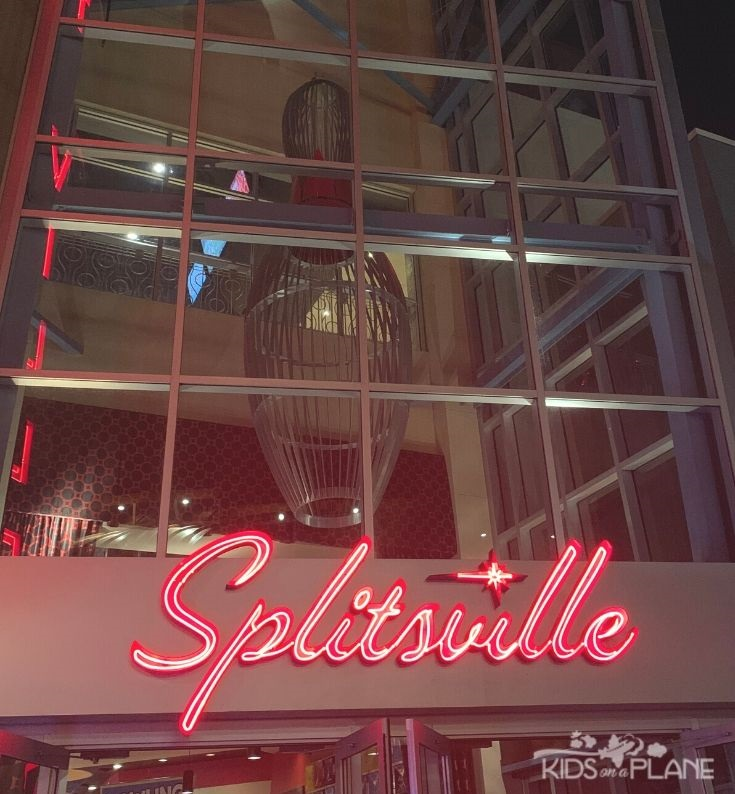Free or Inexpensive Things to Do with Kids at Disney World - Bowling at Splitsville and more