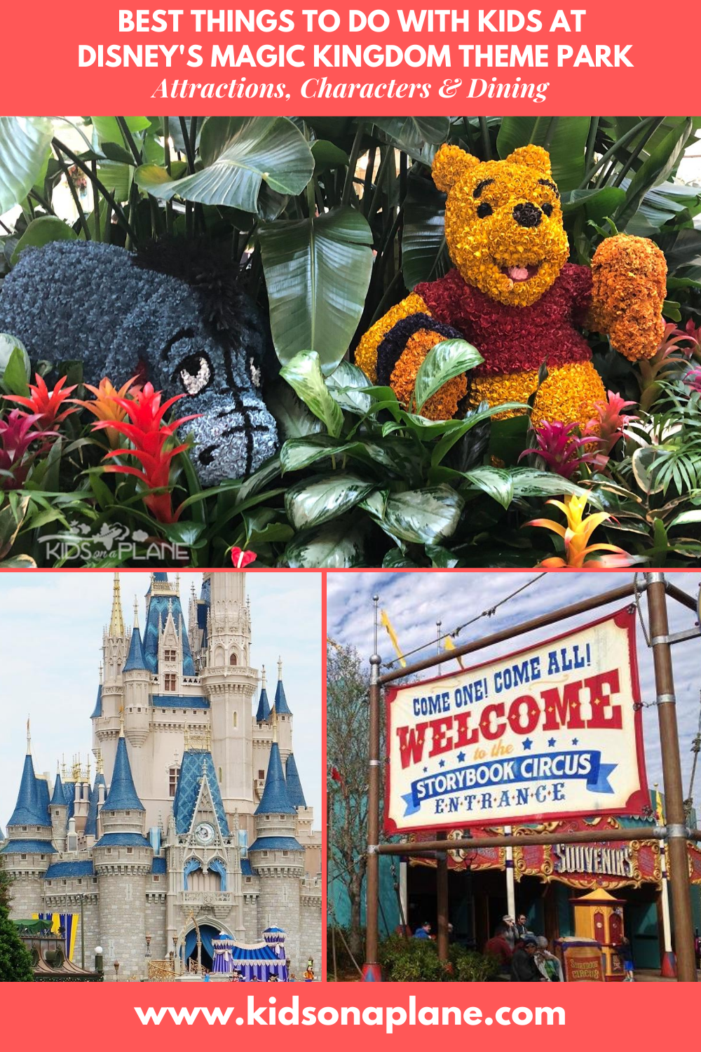 Best things to do with kids at Disney World Magic Kingdom - Attractions Rides and Dining