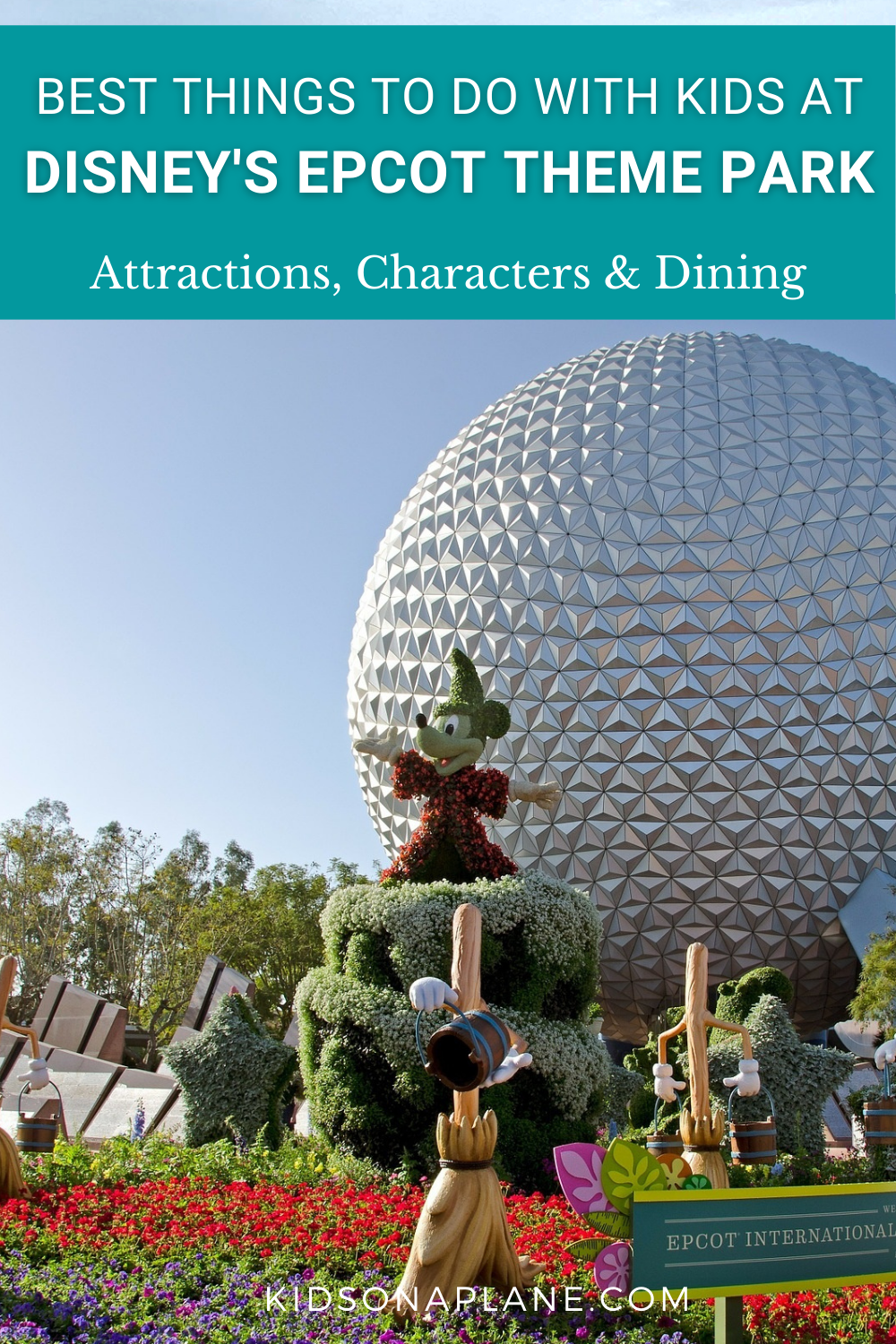 Best Things to Do with Kids at Disney World EPCOT - Rides Shows Characters and Dining
