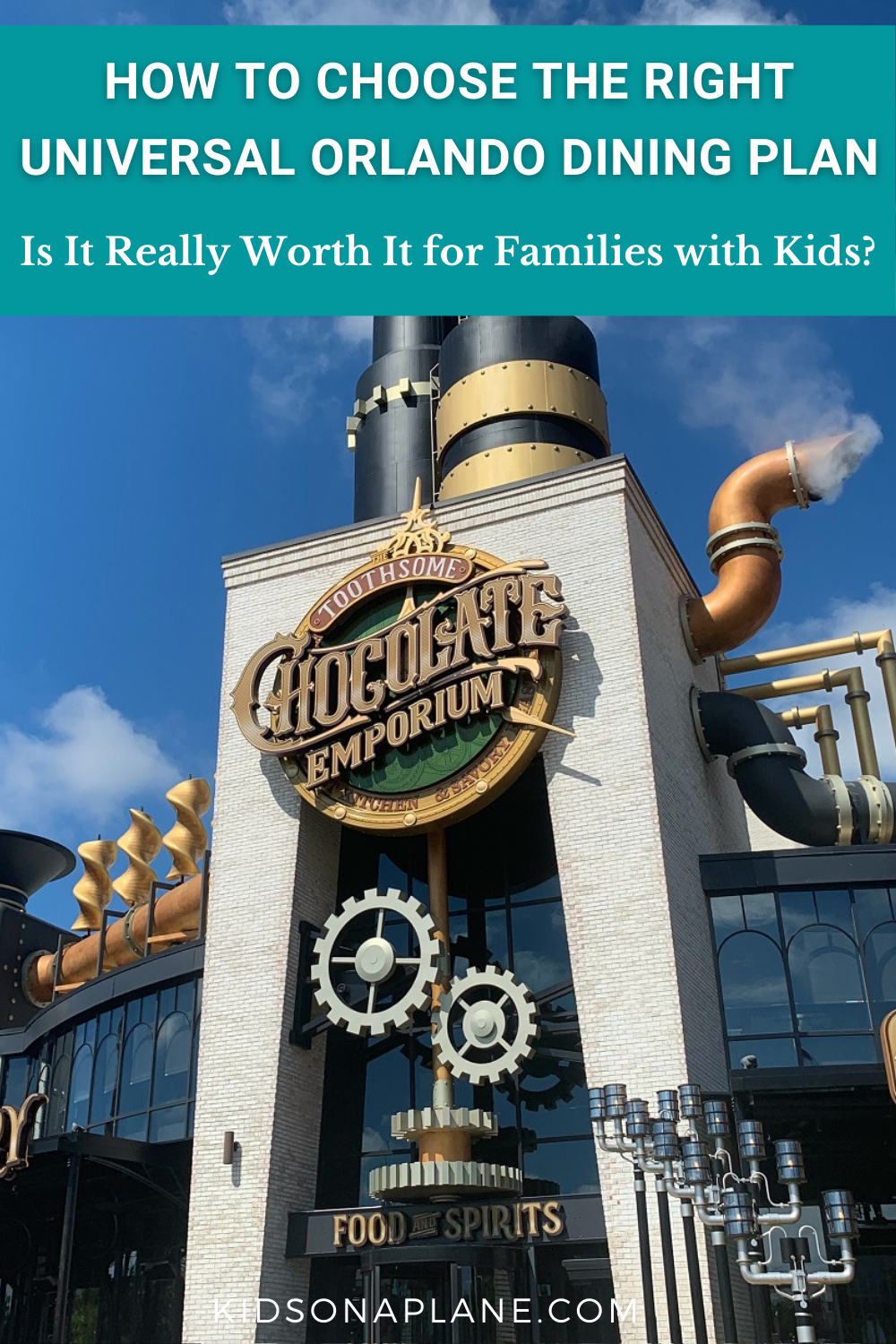 Is the Universal Orlando Dining Plan Worth It - Tips for Choosing the Best One for Families with Kids