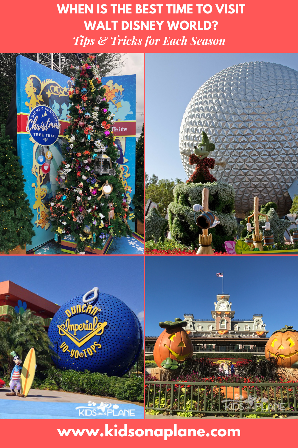 What is the best time to visit Walt Disney World - Tips for all seasons