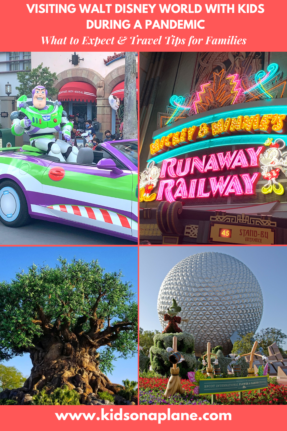 Walt Disney World with Kids During a Pandemic - What to Expect and Travel Tips