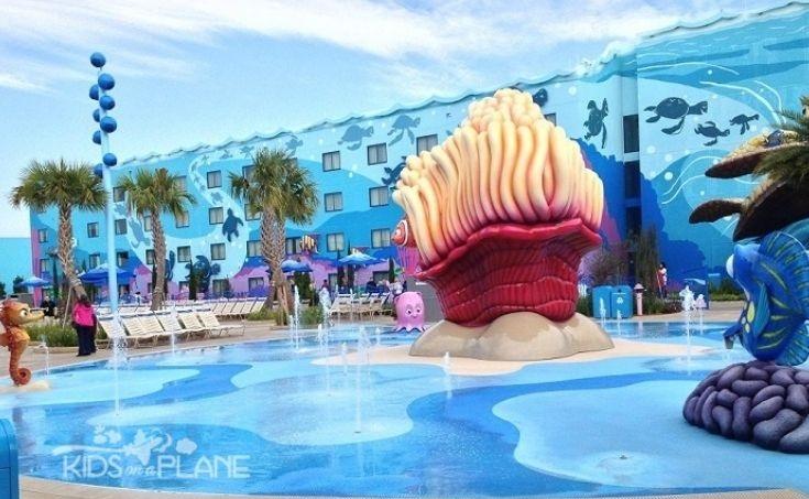 Pools - Pop Century vs Art of Animation Resort