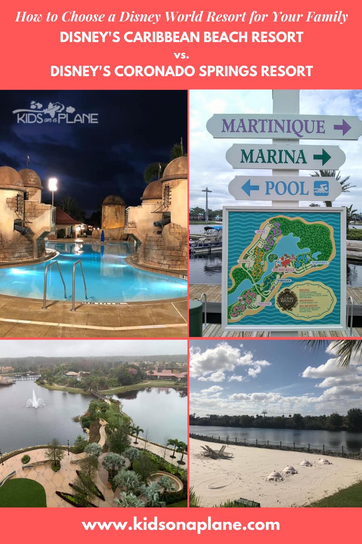 Disneys Caribbean Beach Resort vs Disneys Coronado Springs Resort - Which is Better for Your Family