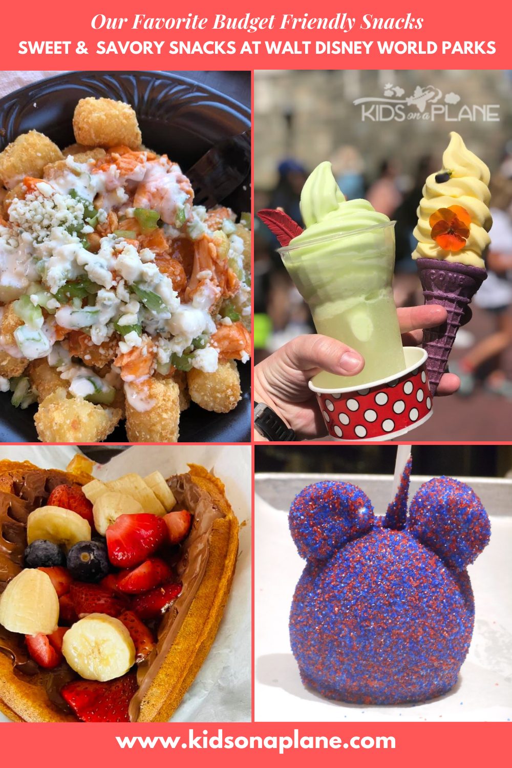 Top Picks for Snacks on a Budget at Disney World Parks - EPCOT Hollywood Studios Magic Kingdom and Animal Kingdom