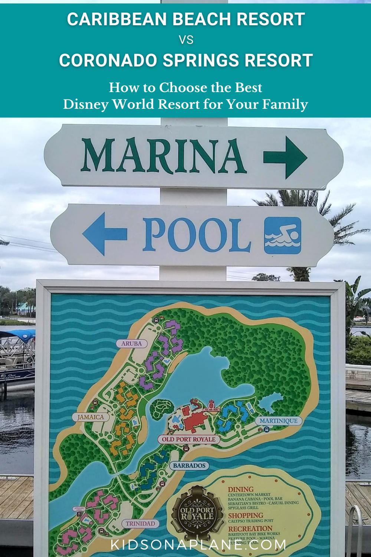 Which Disney World Resort is Best - Caribbean Beach Resort vs Coronado Springs Resort