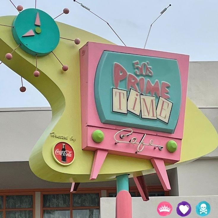 Best Dining Locations Without Characters at Disney World Families Will Love - 8 Recommendations including 50s Prime Time Cafe