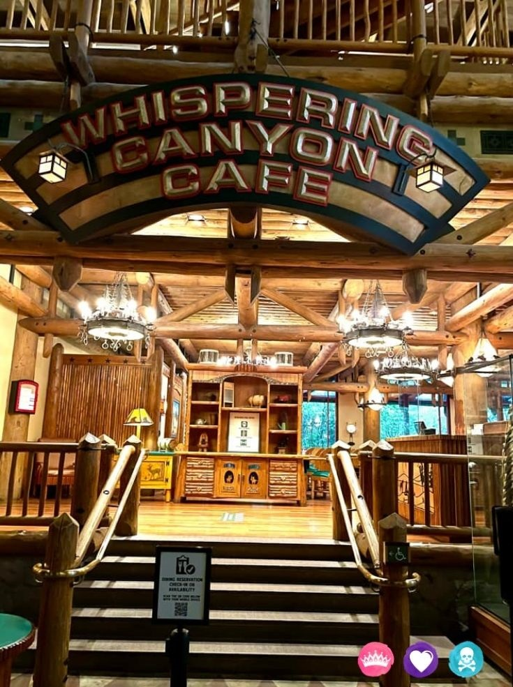 Best Non Character Restaurants at Disney World for Families - Whispering Canyon Cafe will have you laughing and enjoying your meal